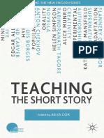 COX, Ailsa. Teaching the Short Story.pdf