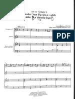 Arie con tromba - Caldara