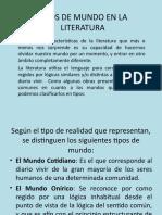 15101388-Tipos-de-Mundo-en-La-Literaturappt.pps