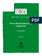 Forest Road Engineering Guidebook