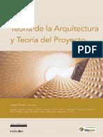 Jorge Sarquis Coloquio Colloquy_ Teoria de La Arquitectura Y Teoria Del Proyecto (Spanish Edition) 2003