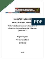 Manual Sistema Dasuspel Minsal