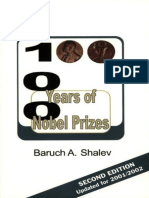 Baruch Aba Shalev - 100 Years of Nobel Prizes-The Americas Group (2003)