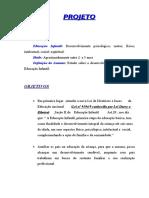 Projeto Educação Infantil.doc