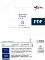 Stock Pitch_Nocil Ltd
