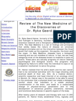 Review of the New Medicine of Discoveries