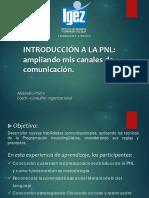 Introduccion a La PNL IGEZ