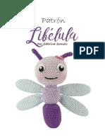 Crochet Pattern Dragonfly Espanol