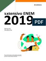 Enem Extensivo Semana 03