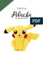 Crochet Pattern Pikachu Espanol
