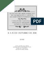 XII Encuentro Iberoamericano de Valorización y Gestión de Cemeterios Patrimoniales