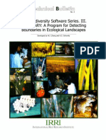 IRRI Biodiversity Software Series III. BOUNDARY