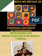 Arte e Música do Séc XX - panorama histórico