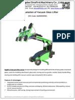 Quotation of Vacuum Lifter GL-LD Series -QingdaoSinofirst 1801204