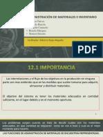 Administración de Materiales e Inventario