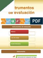 Instrumentos de Evaluación SSM xxy