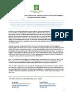 CSA Reforestation - C Estimates - AF Methodology