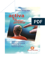 Activa Tu Código Personal E- Book