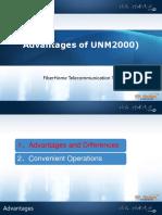 Vantagens do UNM2000