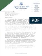 Rep. Peter DeFazio letter to VA Roseburg Healthcare System director