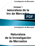 Naturaleza de La Investigación de Mercados