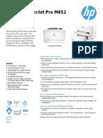 HP Color LaserJet Pro M452 2