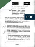 Resolución - OSCE - Odebrecht