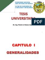 Capítulo 1 Generalidades Tesis