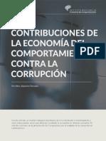 CONTRIBUCIONES DE LA ECONOMÍA DEL COMPORTAMIENTO CONTRA LA CORRUPCIÓN