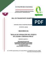 REGLAS DE OPERACIÓN DEL PUERTO DE LÁZARO CÁRDENAS MICH.docx