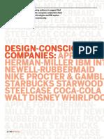 diseño conciencia y companias