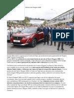 PSA Vigo Fabricará La Versión Eléctrica Del Peugeot 2008