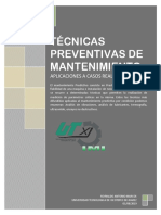 TECNICAS PREVENTIVAS DE MANTENIMIENTO