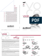 Voce Speakers Manual Manual