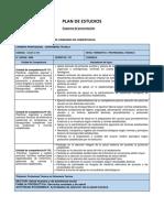 Plan de Estudios Enfermería Técnica
