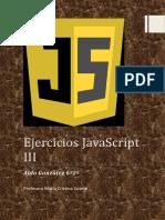 Ejercicios JavaScript III