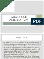 6 ANÁLISIS DE ALTERNATIVAS.pptx
