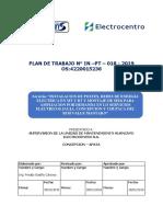 MODELO DE PLAN DE TRABAJO ELECTROCENTRO