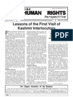 J&K Human Rights Perspective, Sep-Oct 2010