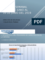 Presentacion Informe Semanal Nº11 03 de Junio Al 09