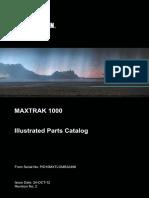 1000 Maxtrak Illustrated Parts Catalog