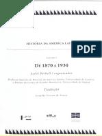 BETHELL, Leslie História Da América Latina 1-3