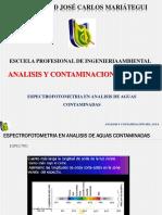 Espectrofotometria en Analisis de Aguas Contaminadas