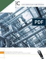 Catalogo de sistema de detección de gas (GASTEC)