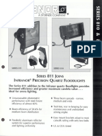 Sterner Infranor 810 & 811 Series Brochure 1996