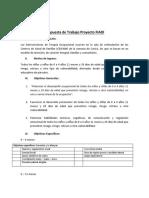 Propuesta de Trabajo Proyecto FIADI