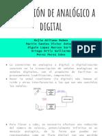 Conversion De analogo a digital