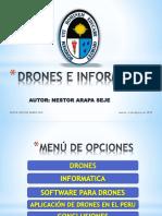 DRONES E INFORMÁTICA
