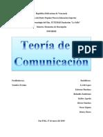 U3 Teoría de La Comunicación Elementos de Des.