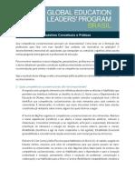 Global Education Leaders' Program Brasil - Competências Socioemocionais